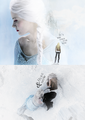 Emma and Elsa  - once-upon-a-time fan art