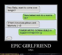 Epic messages