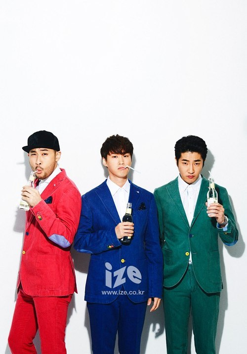 Epik High - ize Magazine November Issue '14