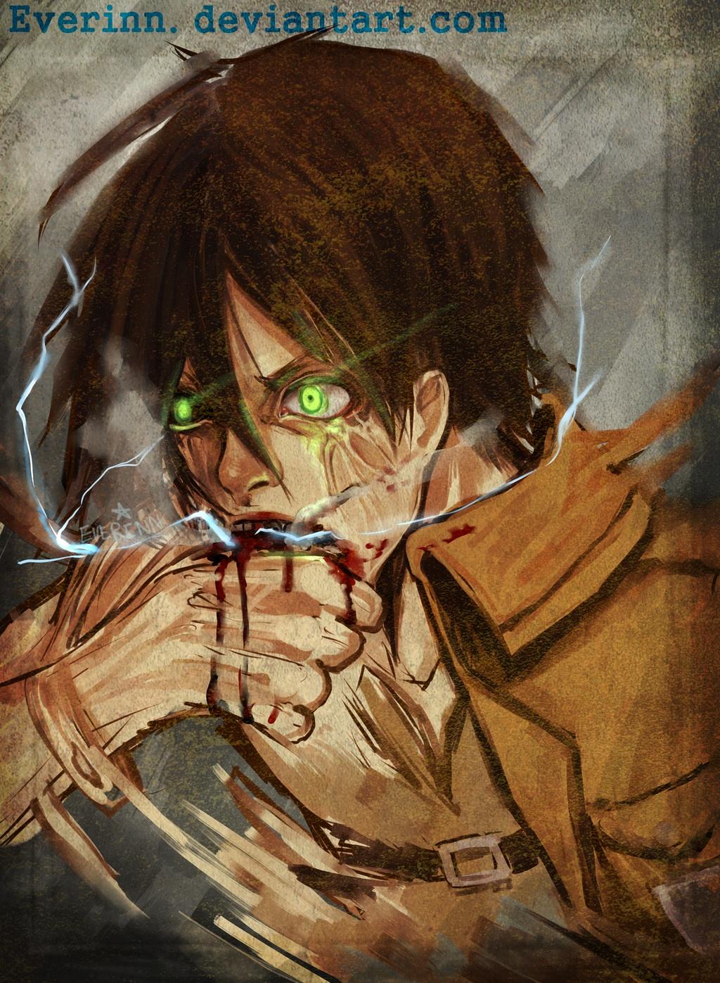 Eren Jaeger - l'Attaque des Titans fan Art (37754622) - fanpop