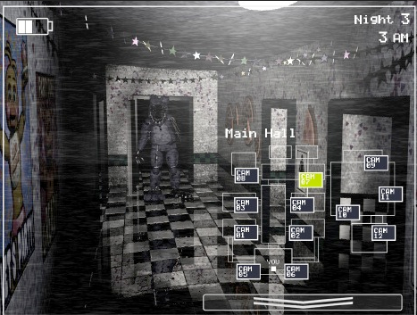 Five Nights At Freddy's hình nền probably containing a telephone booth titled FNAF 2 LEAKED SCREENSHOT (Old Bonnie 2)