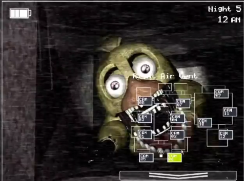 Five Nights at Freddy's پیپر وال entitled FNAF 2 LEAKED SCREENSHOT (Old Chica)