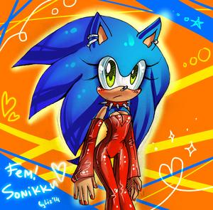 Fem Sonic!