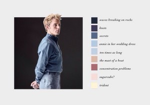 Finnick Odair | Color Scheme