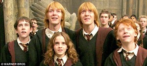 Fred, George, Ron