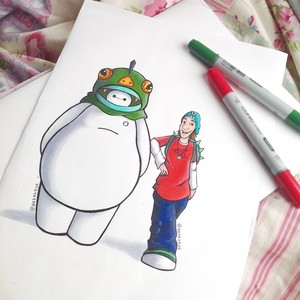 Fred and Baymax