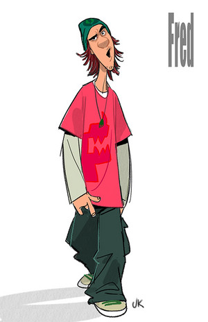 fred Concept Art