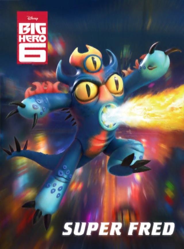 Big Hero 6 Fred