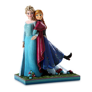 Frozen Anna and Elsa ''Sisters Forever'' Figure door Jim kust-, oever