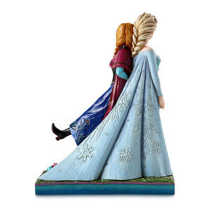 फ्रोज़न Anna and Elsa ''Sisters Forever'' Figure द्वारा Jim किनारा, शोर