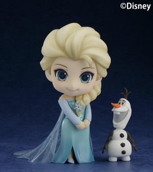 Frozen Elsa and Olaf Nendoroid Figures