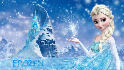Frozen Hintergrund called Frozen Elsa