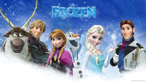 Disney Princess wallpaper titled Frozen Group