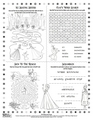 アナと雪の女王 Sing-along Activity Sheet