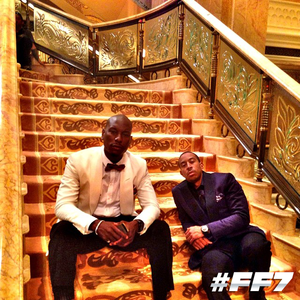 Furious 7 - Behind the Scenes - Tyrese Gibson and Ludacris
