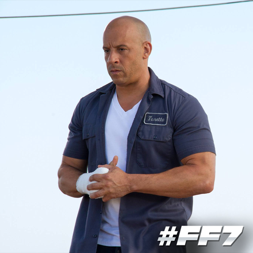 fast and furious wallpaper entitled Furious 7 - Behind the Scenes - Vin Diesel