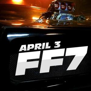 Furious 7 - Car Poster