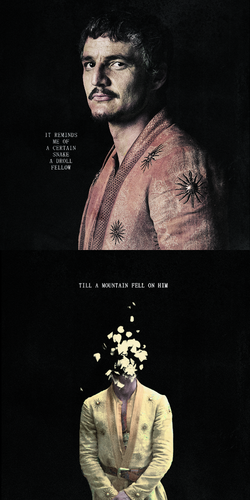Game of Thrones wallpaper containing anime called Oberyn Martell