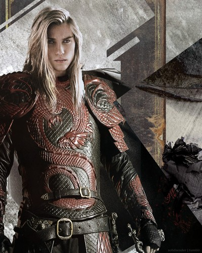Game of Thrones wallpaper possibly with a breastplate titled Rhaegar Targaryen