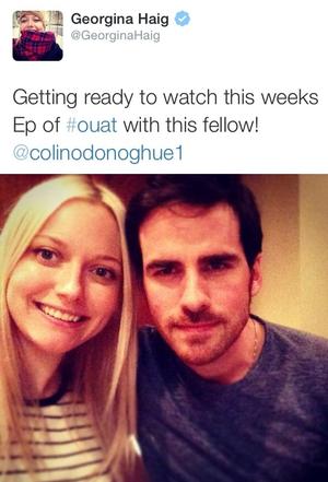 Georgina's Tweet
