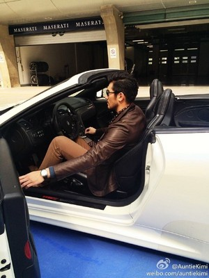 Godfrey for Maserati