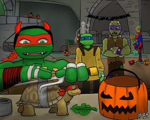 Halloween TMNT
