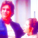 Han and Leia - han-solo icon