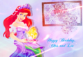 Happy Birthday, KataraLover and ARIEL-RAPUNZEL