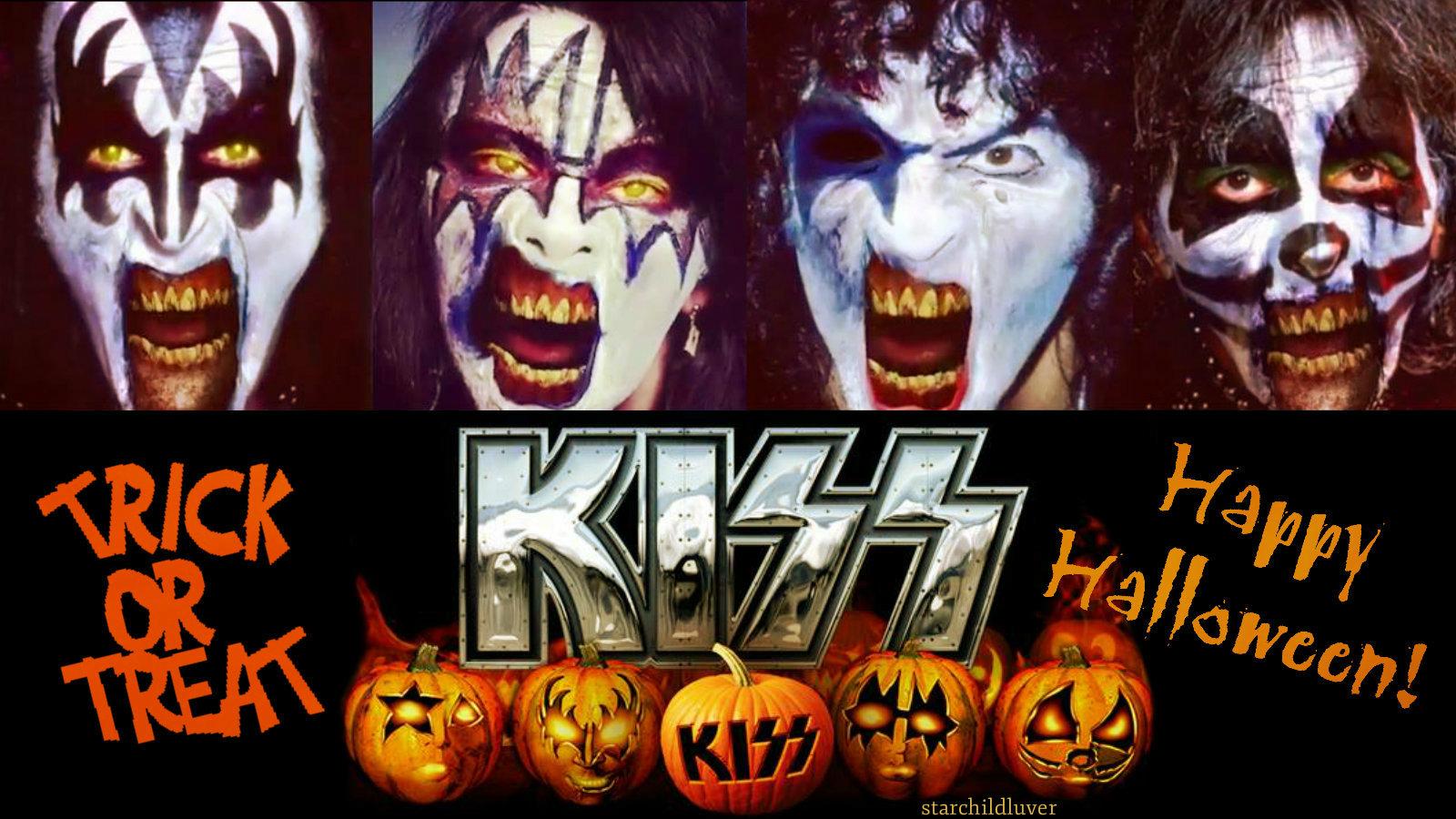 Happy Halloween....Zombie KISS style