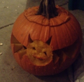 Happy I Carved A Bat quả bí ngô, bí ngô Day!
