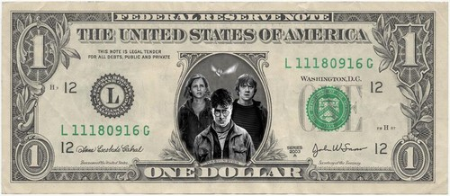 Photoshop wallpaper titled Harry Potter Dollar!