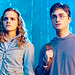 Harry and Hermione - harry-james-potter icon