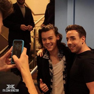 Harry at X Factor Studio