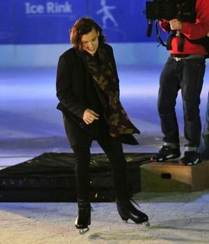 Harry on Ice
