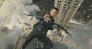 Hawkeye Shooting an Arrow