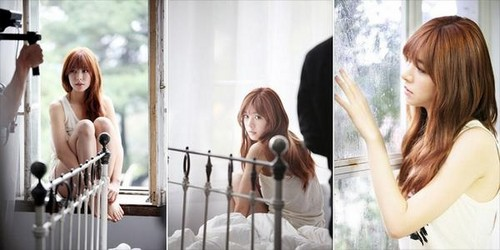 Hello Venus achtergrond possibly with a holding cell and a portrait titled Hello Venus comeback 2014