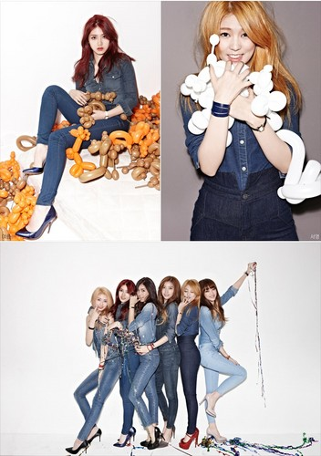 Hello Venus wallpaper probably containing a well dressed person, a sign, and a hip boot called Hello Venus comeback