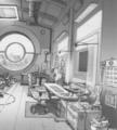 Hero 6 Concept Art - Tadashi's lab