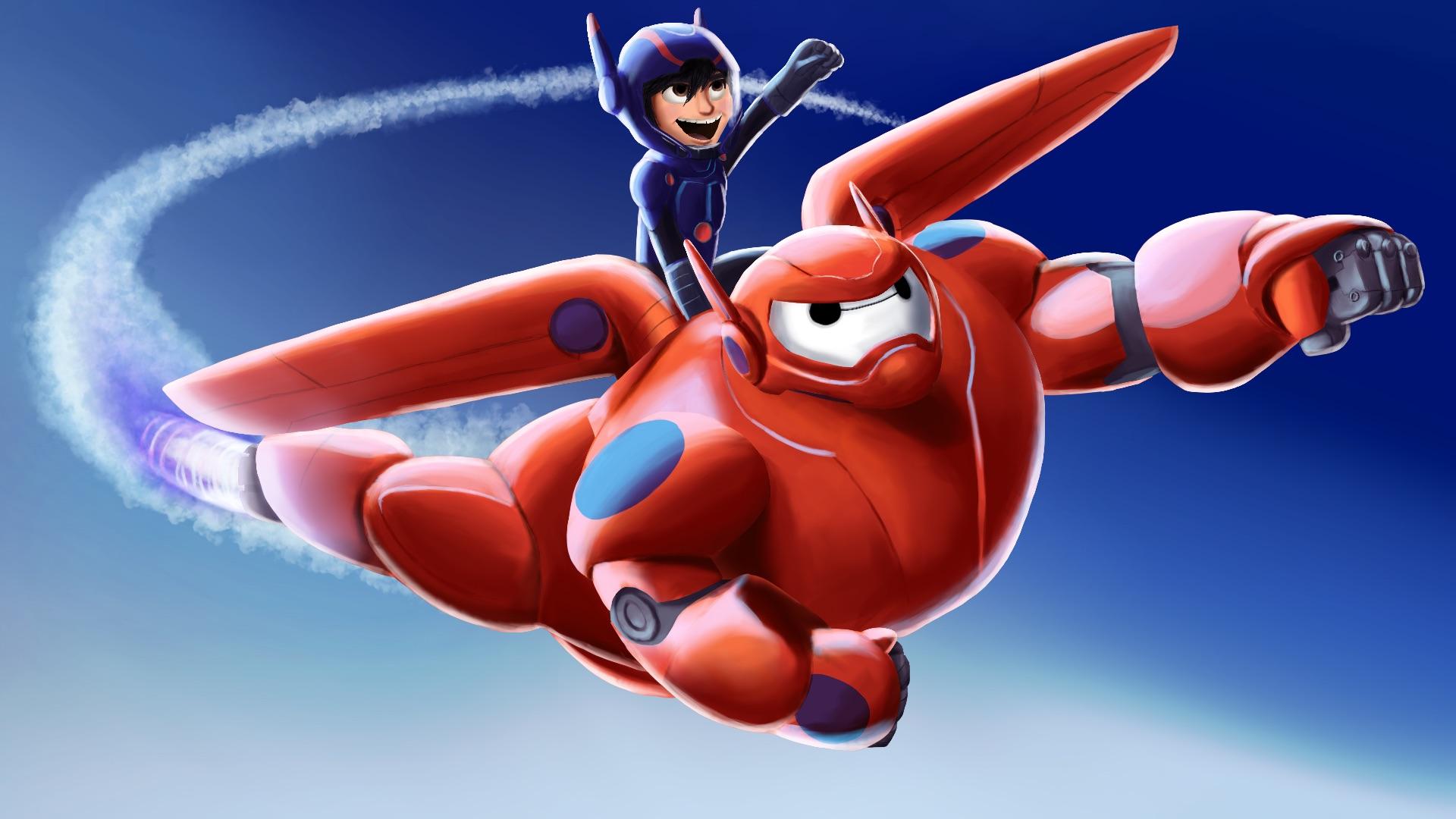 Hiro And Baymax Big Hero 6 Fan Art 37700224 Fanpop