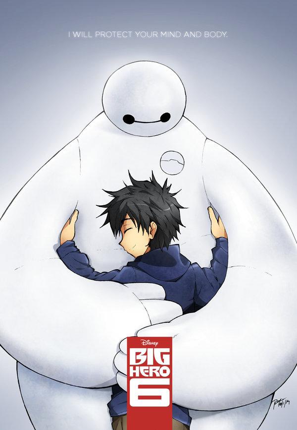 hiro and baymax big hero fan art fanpop