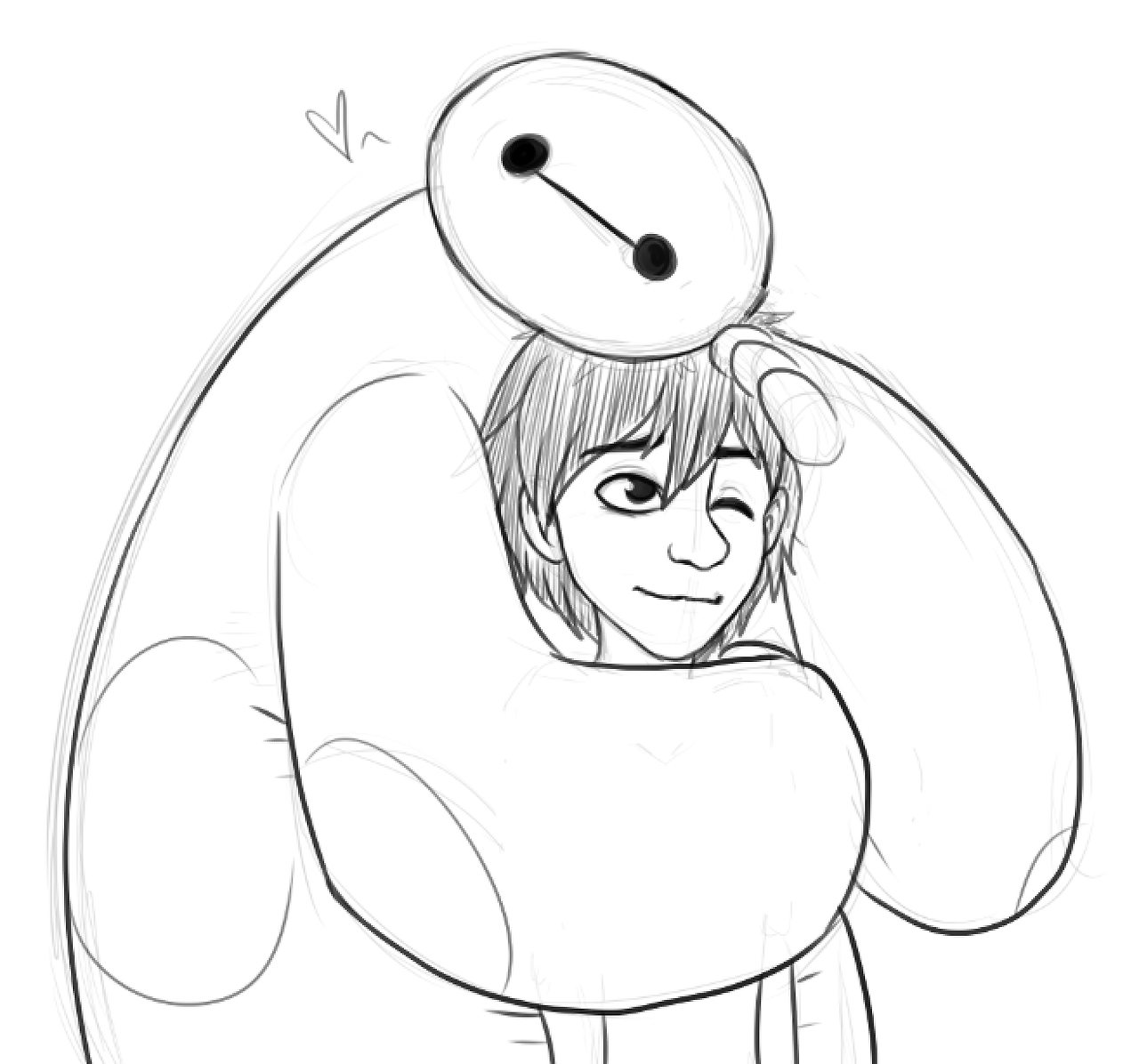 Big Hero 6 Coloring Max Coloring Pages