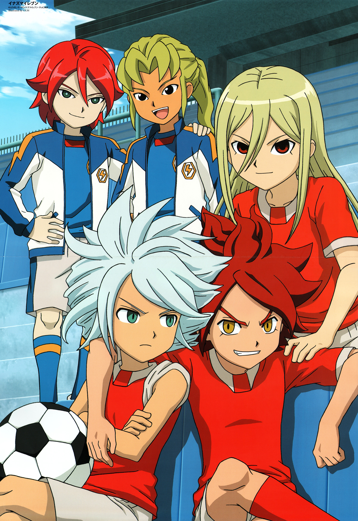 Kiyama Hiroto Xavier Foster Images Hiroto With His Friends Hd Fond D