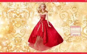 Holiday 芭比娃娃 2014