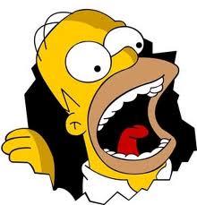 Homer Yelling