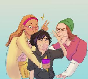 Honey, GoGo and Fred
