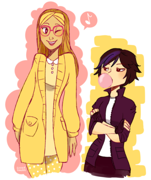 Honey zitrone and GoGo Tomago