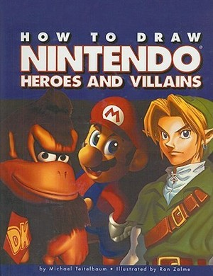 How to draw Nintendo Heroes and villains cover