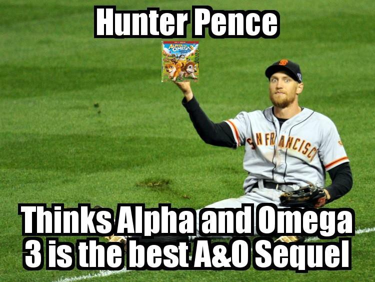 Hunter Pence A&O Sign