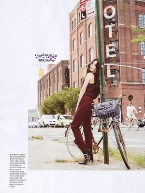 Hyuna New York Issued sa pamamagitan ng Elle Korea