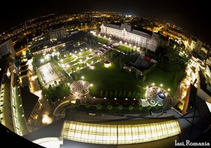 Iasi city night, Romania